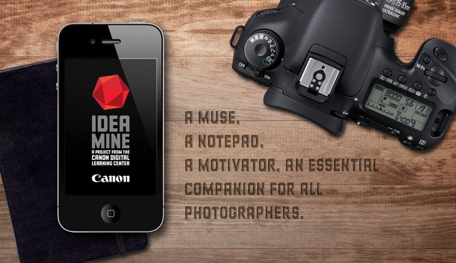 Canon Idea Mine: Inspiring photographers everywhere image 1